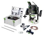 Festool Overfræser OF 2200 EB-Set 574392