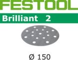 Festool StickFix-slibepapir Ø 150 mm Brilliant