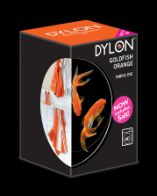 Dylon maskinfarve (goldfish orange) All-in-1