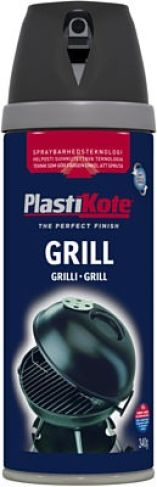 Plasti-kote grillspray bbq 150 400ml spraymaling sort 425c 360026020
