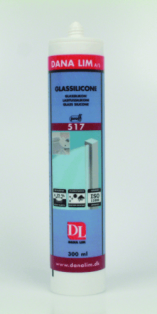 Dana glassilikone 517 300ml transparent proff 51731