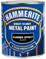 Hammerite 250 ml 250ml Sort  Glat blank