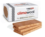 Climowool Glasuld Isolerings Bats 195x560x960mm - MK/MW 37