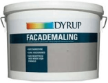 Dyrup facademaling classic 9ltr hvid 2333-800-6 acrylmaling