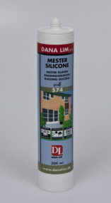 MESTERSILICONE DANA S 574 TRANSPARENT 300ML.