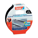 Tesa skridsikker tape 25mm 5mtr/rl sort 55587