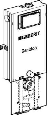 Geberit Sanbloc UP320 3/6 liter, F.