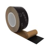 UV tape, sort, 60mm x 25 m