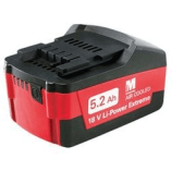 Metabo 18V batteri 5,2 Ah