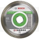 Diamantskæreskive Bosch GRES 125X22,2MM BEST