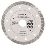 Bosch diamantskæreskive 125 mm turbo