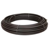 Uponor 50 mm PE100 PN10 SDR17 rør, sort/brun, 100 m, EN12201